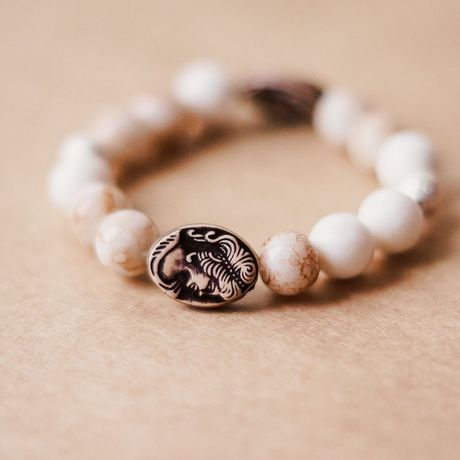 оникс бусины украшения браслет бижутерия белый натуральныекамни
