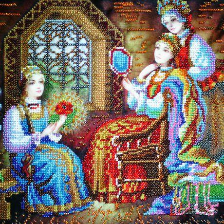 вышивка волшебство сказка ребенку день рождения бисер картина подарок