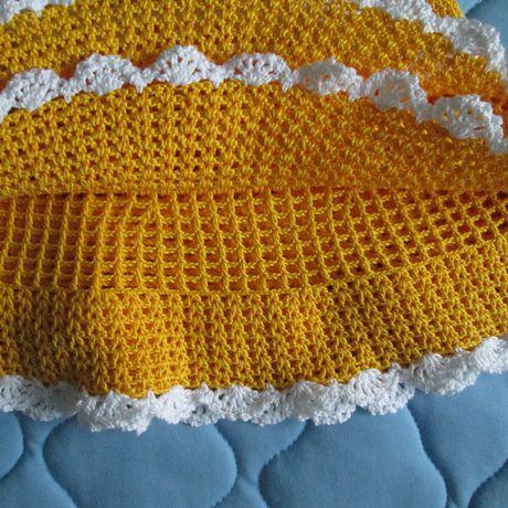 одежда вязание платье хлопок крючком девочкам ручнаяработа нарядное дети