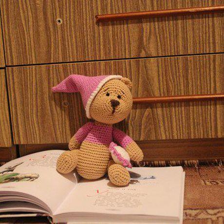 игрушка игрушки мишка ручная работа нитки