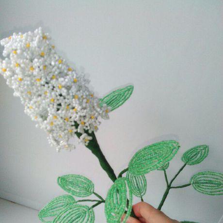 избисера ветка ваза сирень цветы подарок