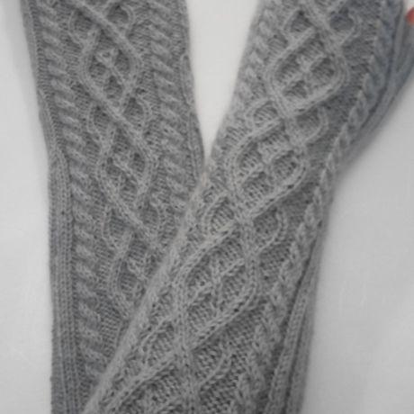 митенки вязание спицами рукава