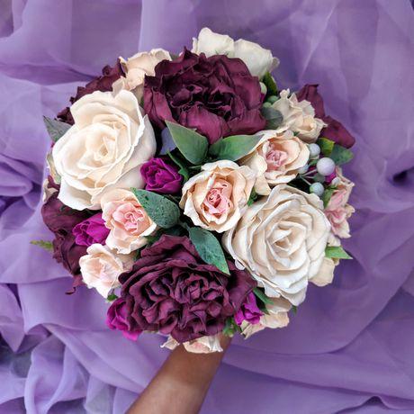 фоамиран свадьба букетцветов букетневесты невеста