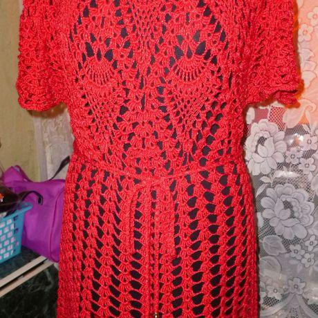 платьекрючком туникакрючком вязаноеплатье