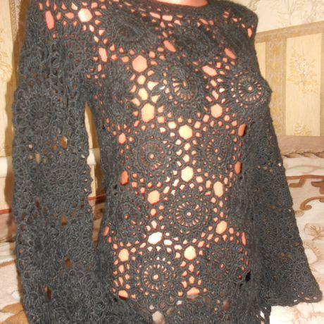 вязание кофточка работа кофтавязаная женскаяодежда ручнаяработа