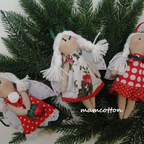 куклы ручнаяработа ангелочки украшениянаелку