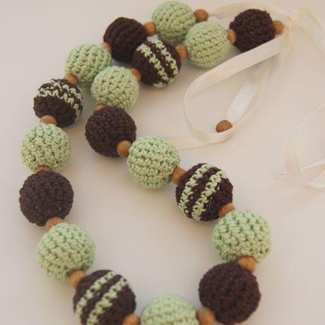 вяжутнетолькобабушки вязаниеназаказ шоколадмята мода украшение вяжуназаказ вязание упаковка бусы слингобусы стиль