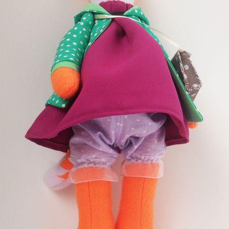 игрушка кукла оранжевый мягкаяигрушка тильда рыжий шьюназаказ лиса tailorfox