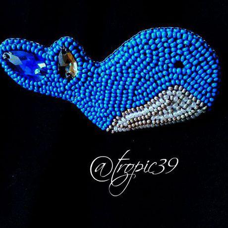 вышивка украшения брошь рукоделие бисер handmade мода ручнаяработа работаназаказ молодежь калининград kaliningrad стразы море стиль красиво
