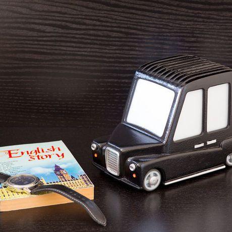 дервянный кэб светильник мальчику такси англия дерево лондон машинка подарок