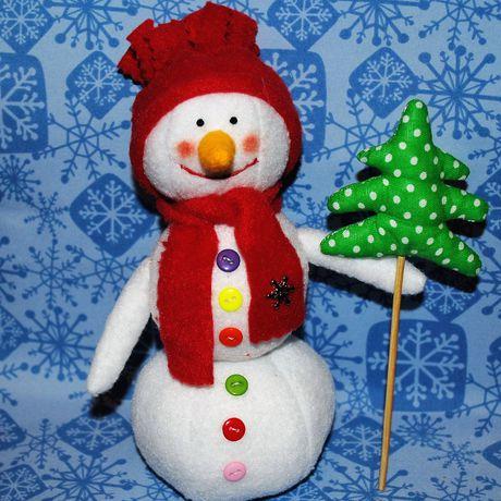 новыйгод тильда снеговик