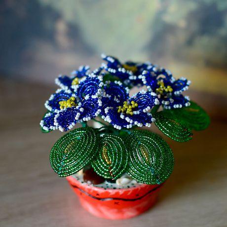 подпрок бисер handmade бисероплетение ручнаяработа цветок