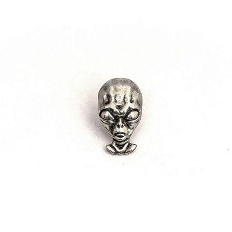 на бабочка замок заказ нательный значки серебряный лацкан для значок молодежный стиль попарт женщин аксессуары мужчин бижутерия пришелец нло инопланетянин инопланетный