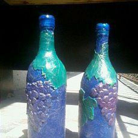 handmade бутылка ручная сувенир работа македония керамика подарок
