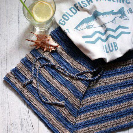 модно пляж вязание крючок лето