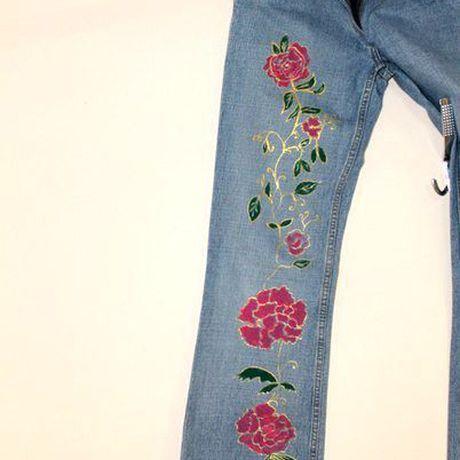 джинсы ручнаяроспись handmade хэндмейд