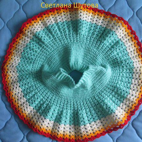 одежда вязание крючком девочкам юбочка ручнаяработа дети