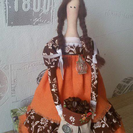 кофе кукла тильда подарок
