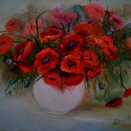 масло картины живопись цветы