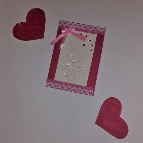 рукоделие слюбовью подарки открытка своимируками