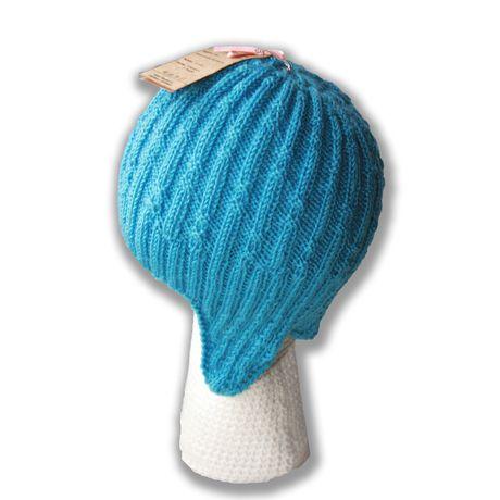 ушанка голубая девочки связанное цвет детям. и волны спицами мальчика аксессуары ручная детские для шляпы шапки продажа купить шапочка морской работа резинка