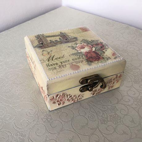 шеббишик shabbychic шебби декупаж подарки handmade шкатулка декор ручнаяработа подарок
