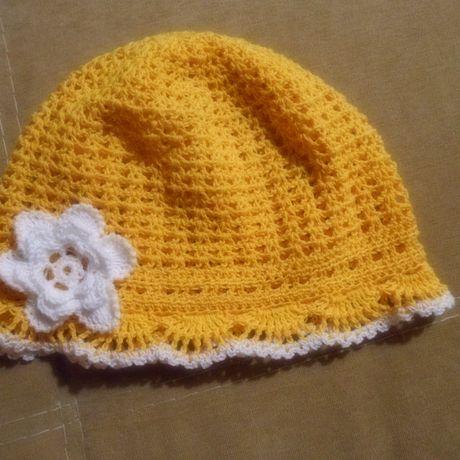 детский комплект платье вязанное вязанная связано крючком шляпка