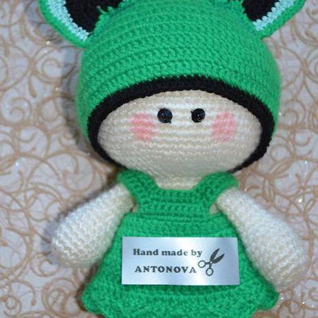 игрушки кукла вязание