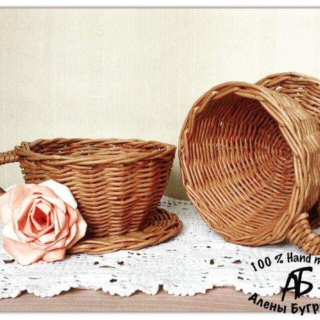 конфетница ваза кухня плетение бумажные чаша бумага трубочки