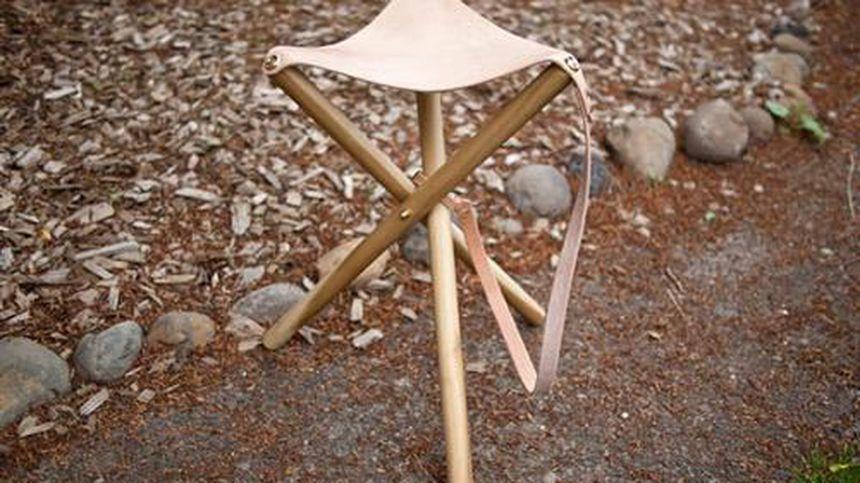 Складной табурет - выручалочка для пикника