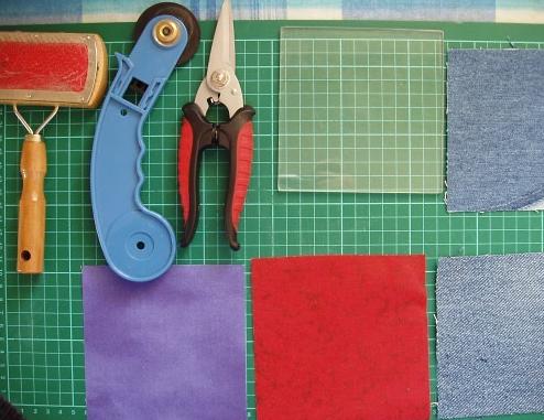 Лоскутное шитье из джинсов 1