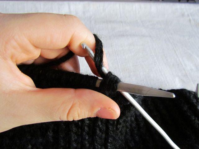 Вязание снуда спицами 10