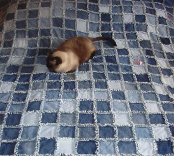 Лоскутное шитье из джинсов 11