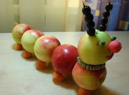 Поделки из яблок своими руками 3