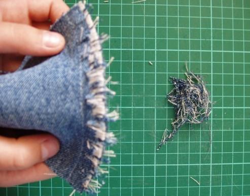 Лоскутное шитье из джинсов 9