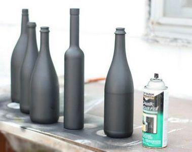 Декорирование бутылок 5