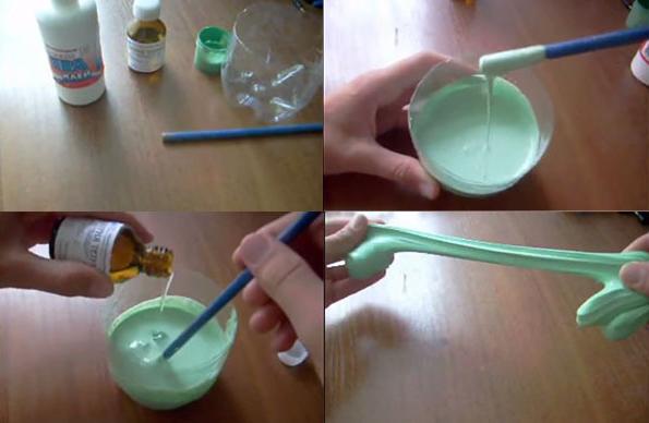 Как сделать пластилин своими руками 5