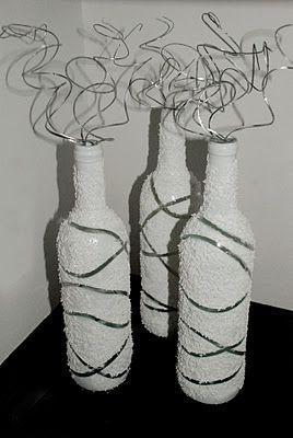 Декорирование бутылок 1