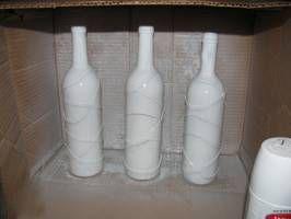 Декорирование бутылок 3