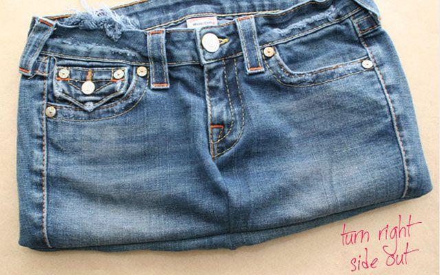 Из старых джинсов своими руками 8