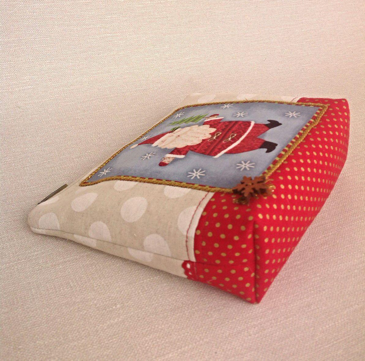 косметичка ручнаяработа подарок вналичии новыйгод сумочка