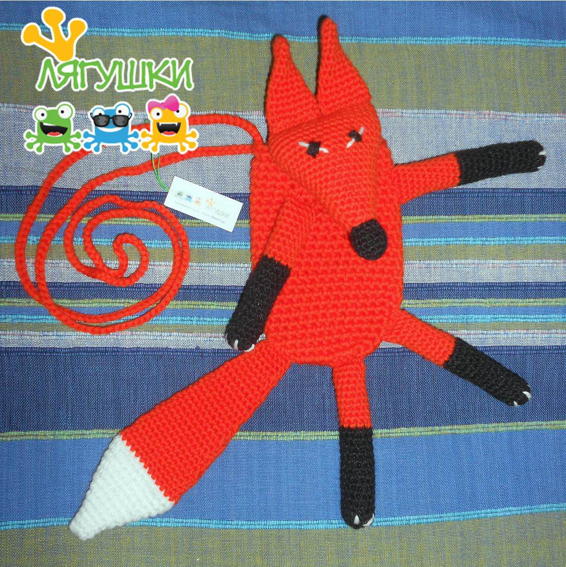 crochetbag smartphonebag лис лисички сумкалиса футлярдлясмартфона слисойнапрогулку brownfox excellentgift трилягушки вязанаясумка фырфыр fox redfox лиса