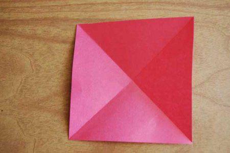 Оригами из бумаги цветы 3