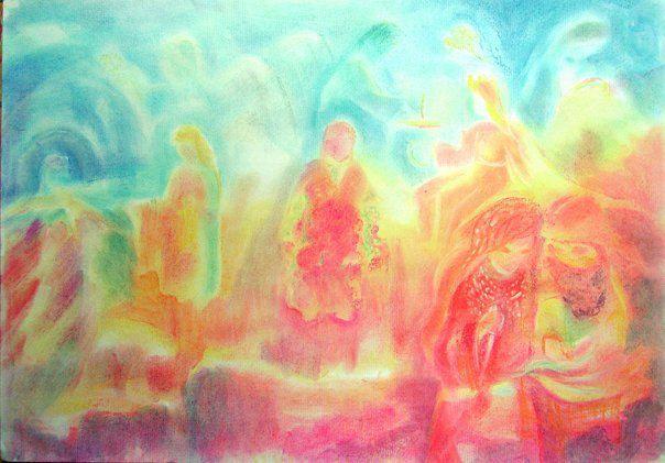 рисунок дети обучение живопись