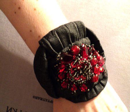 бисер браслет джинсы украшение вышивка кристаллы вышивкабисером своимируками бижутерия