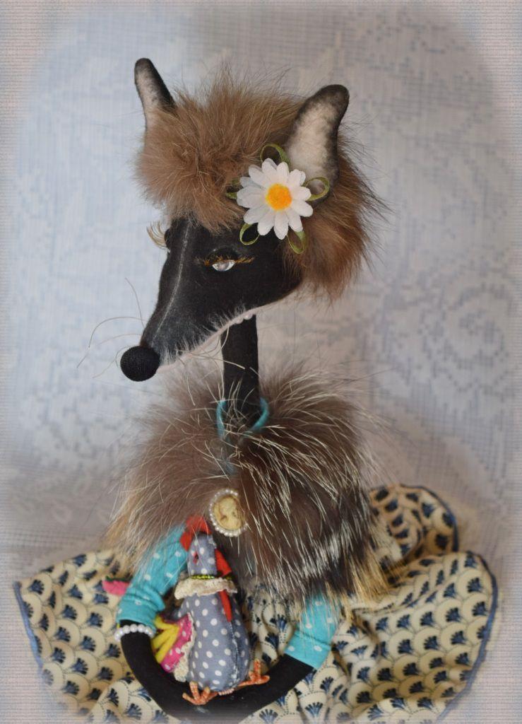 декор игрушка авторскаякукла сувенир купитьподарок лиса интерьернаяигрушка своимируками радость текстильная hendmade ручнаяработа подарок
