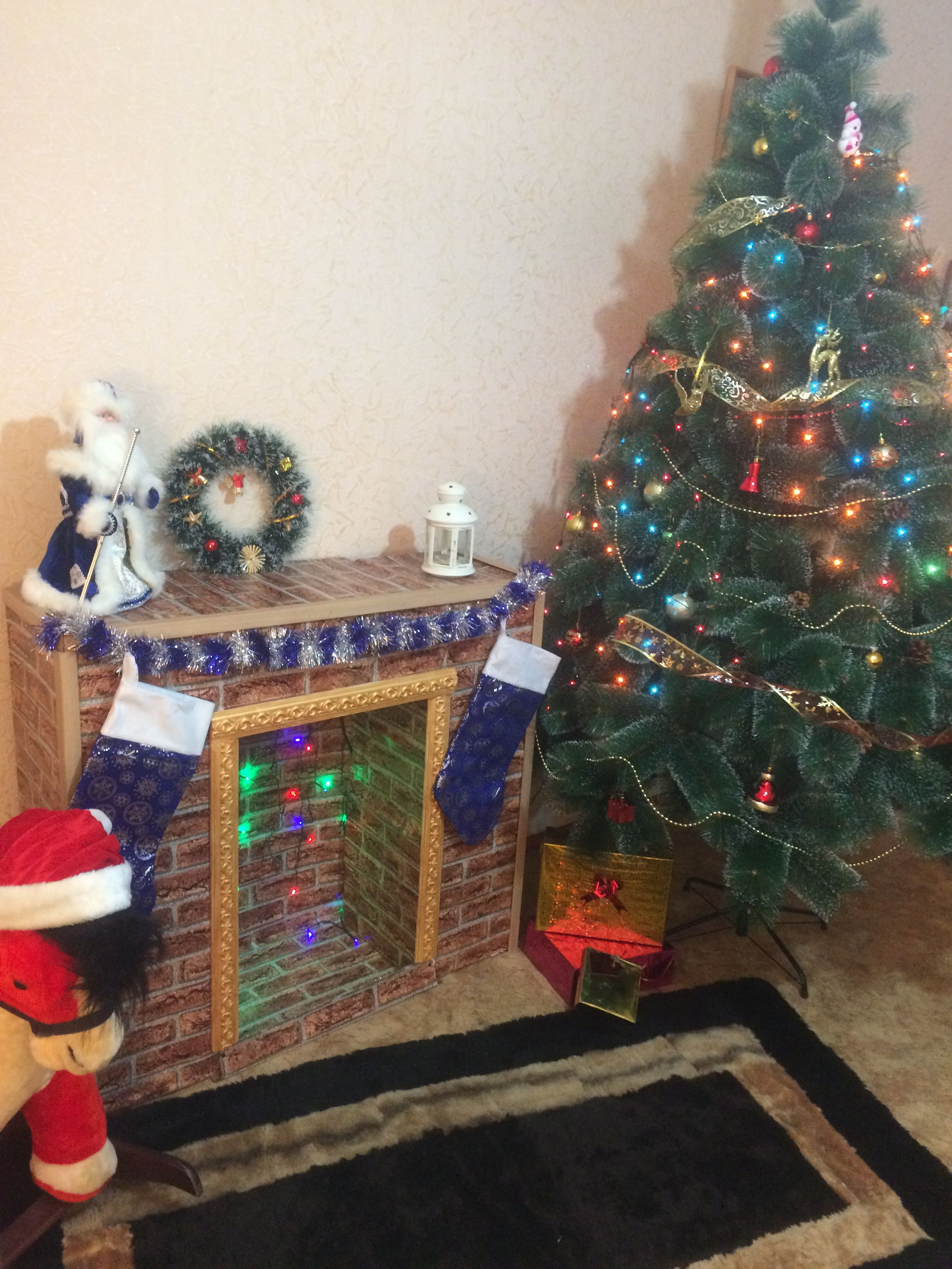 камин новогоднийкамин декоративныйкамин