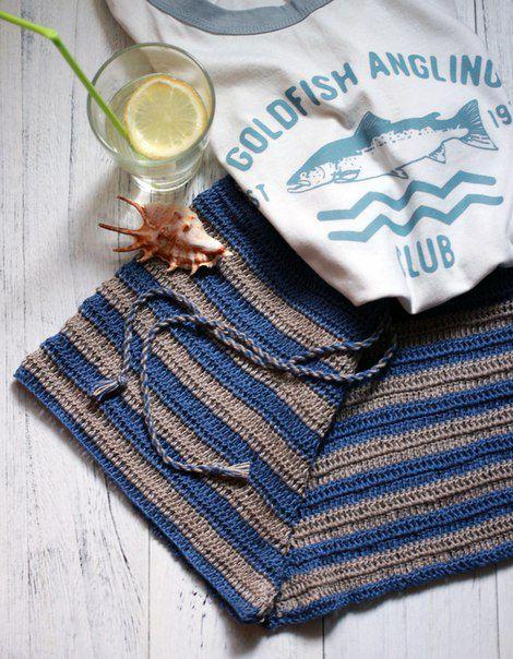 пляж вязание модно крючок лето