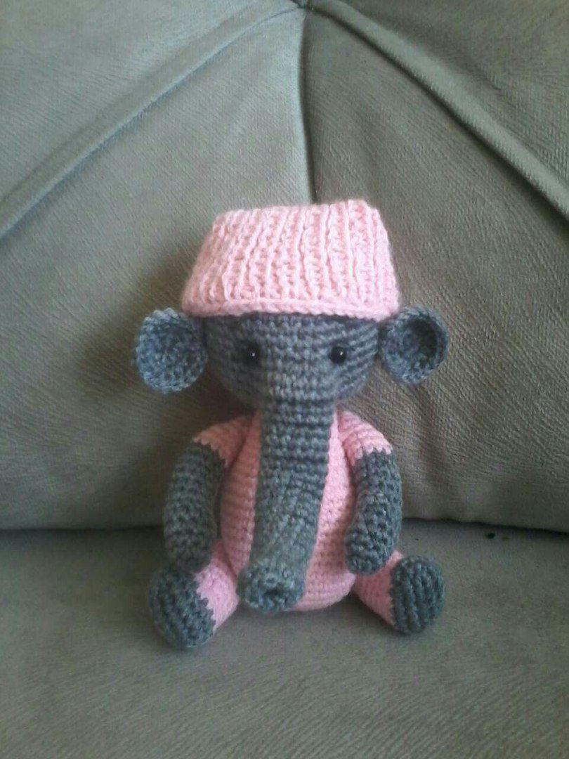 слон игрушки амигурами