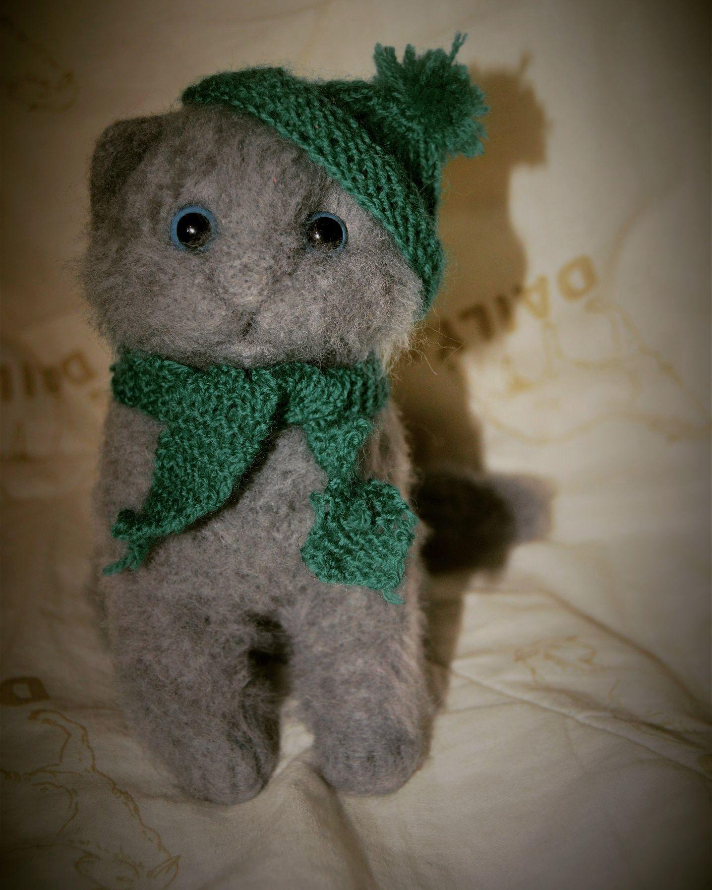 лучшийподарок любимым шерсть подарки кот ручнаяработа